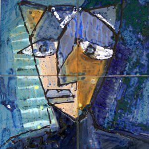 Kunstwerke in Öl gemalt kaufen, Berlinmalerei, Seidenmalerei
