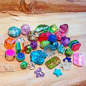 Kunststoffperen preiswert und günstig im Perlenshop