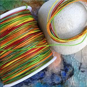 Fädelmaterial für Ketten wie Schmuckdraht und Fädelschnur und Lederriemchen