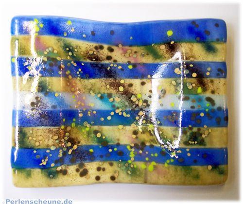 Handmade Decoschale, Glasschale, Ascher