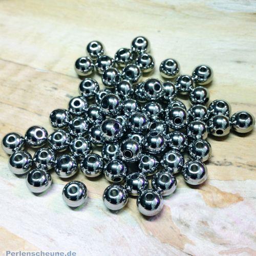Edelstahlkugeln Perlen 8 mm