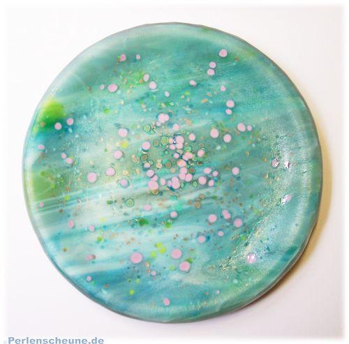Glasschale, Aschenbecher, Untersetzer Deco
