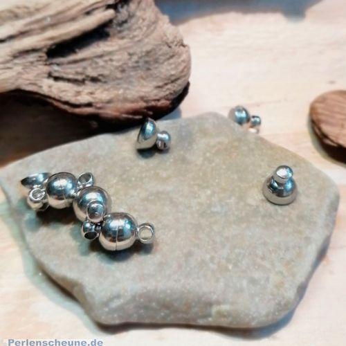 2 Magnetverschlüsse rund 11 mm
