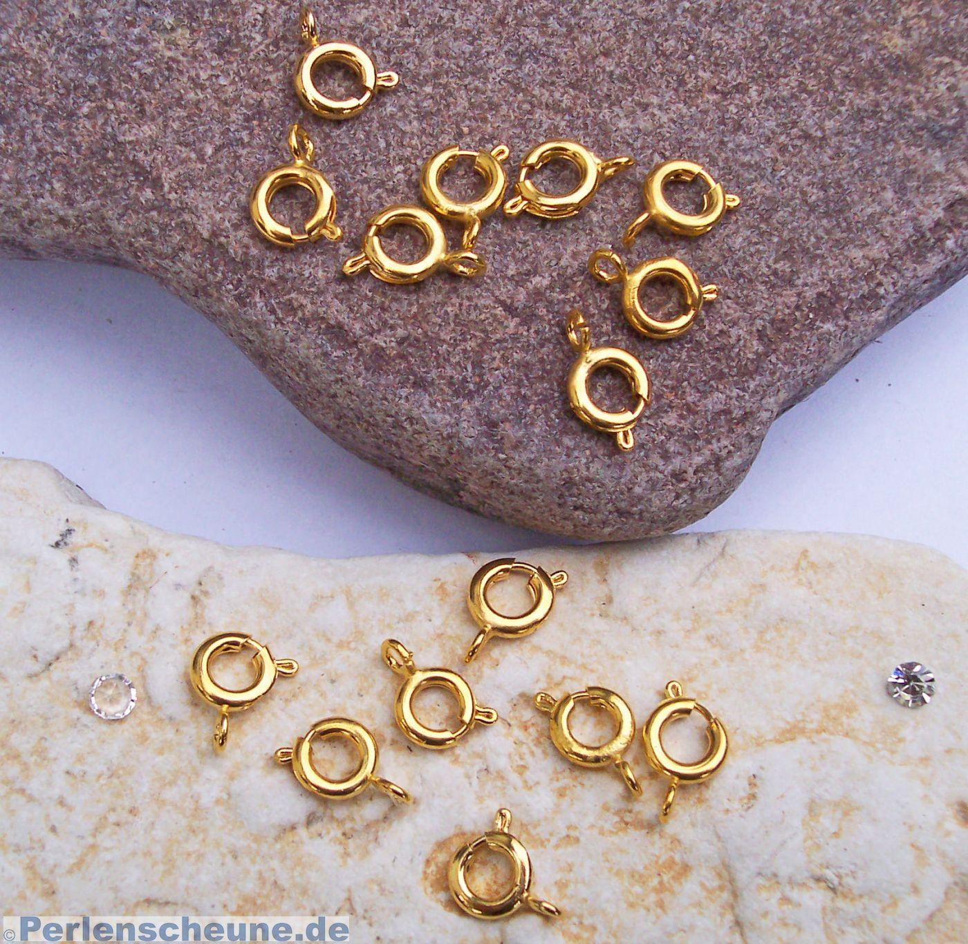 Buchstaben mit Karabiner Gold Verschiedene Charms Kette Anhänger 1177