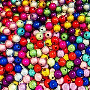 20 Miracleperlen Perlenmischung 8 mm