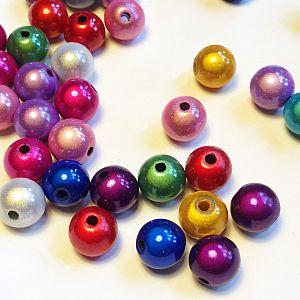 30 Miracleperlen Perlenmischung ca. 3,6 mm