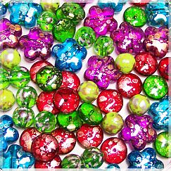 30 Set fancy Kinder-Perlen-Mix 10 - 15 mm