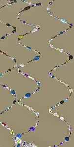 4 Reihen Memory Draht für ein  Armband in silber 0,6 mm 6,5 cm breit