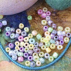 20 g Roccaills in Pastelfarben Mix 3-4 mm