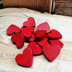 Perlen Holz Herzen