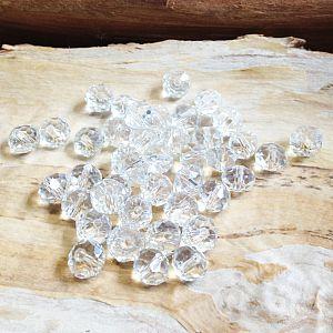 runde geschliffene Glasperlen