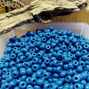 20 g japanische TOHO Rocailles Glasperlen Mix blau türkis